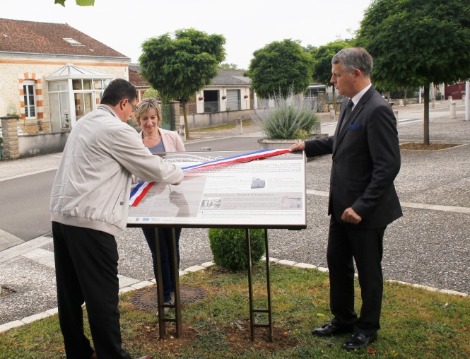 St Projet pupitre inauguration